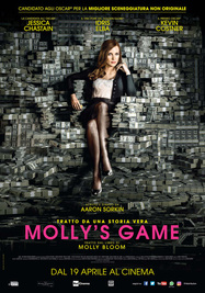 Molly's Game,. locandina (ANSA)