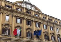 Veduta del palazzo sede del Ministero dell'Economia e delle Finanze in via XX settembre a Roma (ANSA)