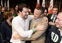 Matteo Salvini e Flavio Tosi (ANSA)