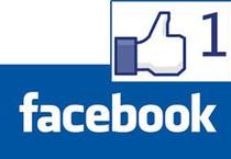 Il logo ''mi piace'' di Facebook (ANSA)