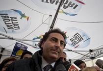 Il segretario dell'Idv Ignazio Messina (ANSA)