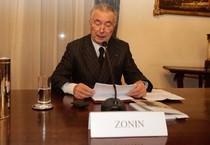 Il presidente il Banca Popolare di Vicenza, Gianni Zonin (ANSA)