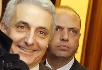 Angelino Alfano e Gaetano Quagliariello in una foto d'archivio (ANSA)