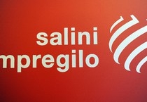 Il logo Salini-Impregilo (ANSA)