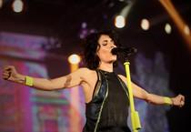 Giorgia in concerto a Padova (ANSA)