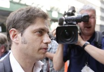 Axel Kicillof, ministro argentino all'Economia (ANSA)