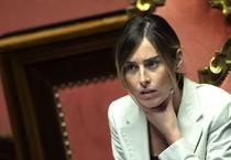 Il ministro delle Riforme e Rapporti col Parlamento Maria Elena Boschi (ANSA)