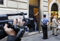 Camera: rapina in banca interna a Palazzo S. Macuto (ANSA)