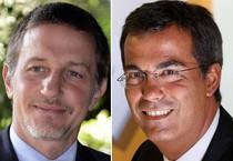Massimo Giannini e Giannini Floris (ANSA)