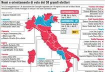 Quirinale, nomi e orientamenti di voto dei Grandi Elettori (ANSA)