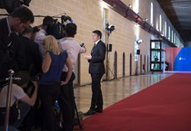 Il presidente del Consiglio Matteo Renzi a La Valletta (Malta) per il Vertice Unione Europea-Unione Africana sulle Migrazioni ANSA/ PALAZZO CHIGI/ TIBERIO BARCHIELLI (ANSA)