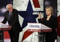 Hillary Clinton e Bernie Sanders (ANSA)