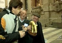 Tavecchio: 'Tapiro d'oro' a presidente Figc (ANSA)