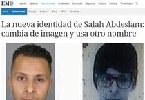 Parigi: el Mundo, Salah usa nuovo nome e 'look' camuffato  (ANSA)