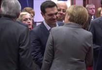 Merkel e Tsipras, (foto di archivio) (ANSA)