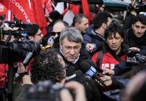 Il segretario generale Fiom, Maurizio Landini (ANSA)