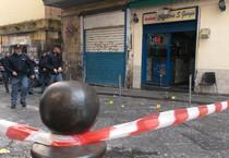 Ciro De Tommaso, il padre di Genny a' carogna ?? stato ferito all'esterno di un bar a Napoli (ANSA)
