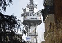 Le antenne Rai di Corso Sempione (ANSA)