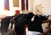 Toghe in aula di giustizia (ANSA)
