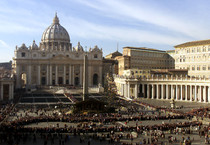 Piazza San Pietro (ANSA)