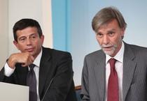 Graziano Delrio e Maurizio Lupi (ANSA)