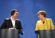 Angela Merkel e Alexis Tsipras (ANSA)