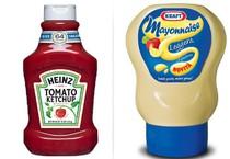 Il ketchup Heinz e la maionese Kraft (ANSA)