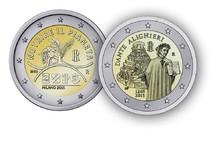 Tesoro: in arrivo monete da due Euro dedicate a Expo e Dante (ANSA)