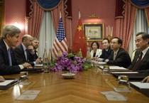 I negoziati di Losanna sul nucleare (ANSA)