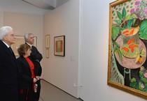 Mattarella visita mostra su Matisse (ANSA)