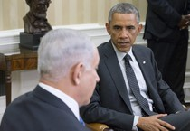 Netanyahu e Obama in una foto d'archivio (ANSA)
