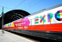 Expo treno 2 (ANSA)