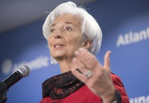 Christine Lagarde (ANSA)