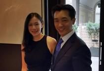 Il broker  thailandese Bee Taechaubol nella foto pubblicata sul suo profilo Instagram (ANSA)