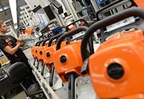 Una fabbrica in Germania (ANSA)
