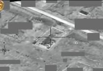 In un frame un momento del raid delle forze della coalizione antiislamita in cui e' rimasto ucciso Alaa al Afri, successore di al Baghdadi (ANSA)