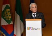 Sergio Mattarella inaugura il Salone del Libro (ANSA)