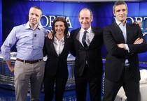 I candidati alla presidenza del Veneto (ANSA)