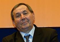 Il  presidente della Lega Nazionale Dilettanti, Felice Belloli, in una immagine tratta dal sito internet  della LND (ANSA)