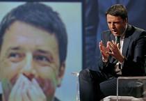 Matteo Renzi a L'Arena (ANSA)