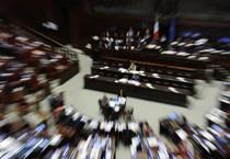 L'Aula della Camera durante il voto sulla scuola (ANSA)