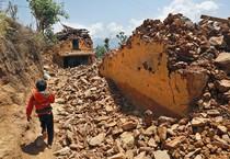 Terremoto in Nepal (ANSA)