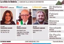La sfida in Umbria (ANSA)