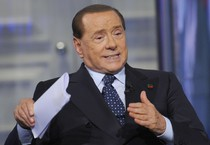 Berlusconi ieri a 'Porta a Porta' (ANSA)