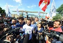 Il segretario federale della Lega Nord, Matteo Salvini (ANSA)