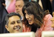 Raffaella Paita e Giovanni Toti, sfidanti alle elezioni regionali in Liguria (ANSA)