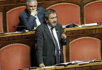 Il presidente della commissione Bilancio, Antonio Azzollini (Ap) (ANSA)
