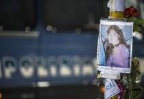 Foto d'archivio del luogo dove è morta Corazon Perez  falciata da un'auto   nel giugno scorso (ANSA)