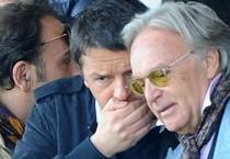 Della Valle e Renzi in una foto d'archivio (ANSA)