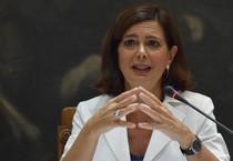 La presidente della Camera Laura Boldrini (ANSA)